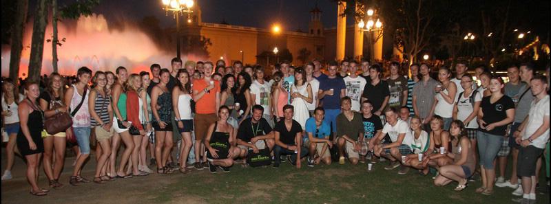 Club-Card Abireisen Gruppe in Barcelona