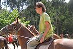Ausflug Lloret - Reiten auf Pferd