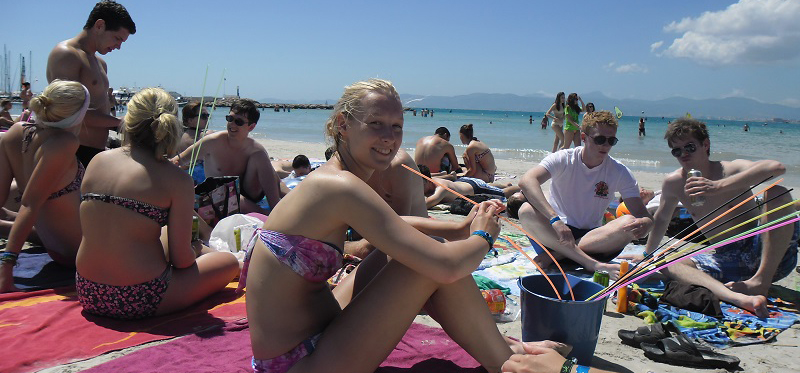 Abireisen nach Mallorca - Strand