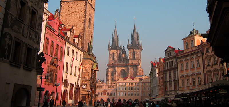 Abireisen nach Prag - stadtbild