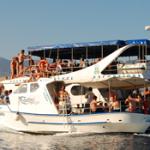 Ausflüge Angebote Novalja - partyboot für abireisen